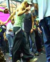 Танец шаффл