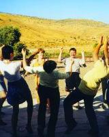 Греческий танец Кофтос