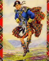 Обучение шотландским танцам