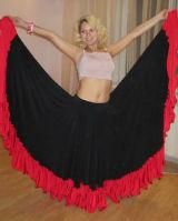 Танец фламенко юбка