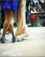 Мужской шаг свинг танца