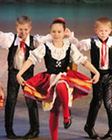 танец полька видео