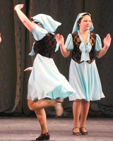 Фигуры в европейских танцах