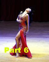Урок танца живота в стиле латина