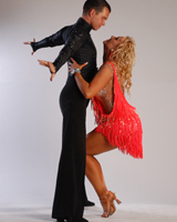 Поддержка в танце румба
