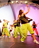 Танец зумба видео