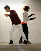 Дабстеп танец